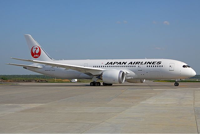 Japan Airlines Boeing 787-846 Dreamliner