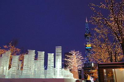 Sapporo Snow Festival and its attractions
