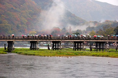 Kyoto's Arashiyama District attractions and access