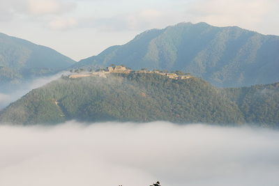 Takeda Castle Ruins, attractions and access