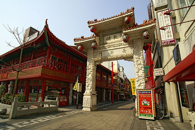 "Nankinmachi  ""Kobe Chinatown"" attractions and access"