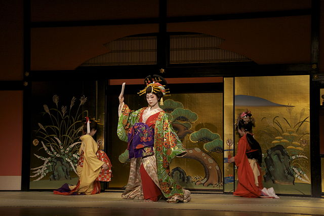 Oiran Show In Edo Wonderland