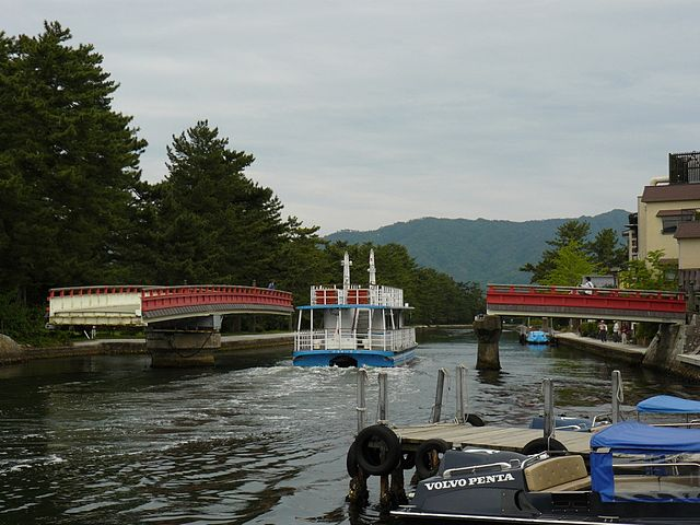 Rotating Bridge - Amanohashidate