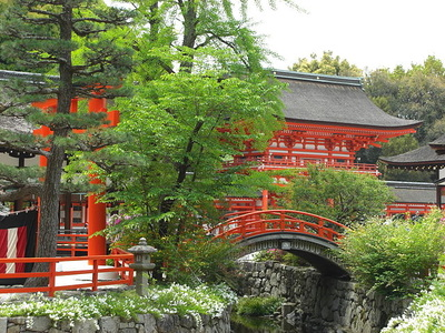 Kamo Shrines attractions and access