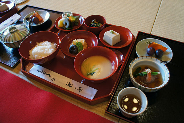 Ryokan Breakfast - Halal In Japan