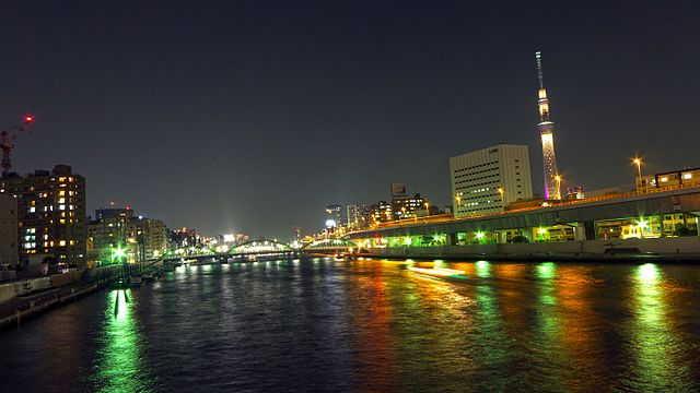 Sumida River - Skytree Night View