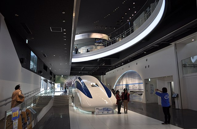 Yamanashi Prefectural Maglev Exhibition Center 1st Floor