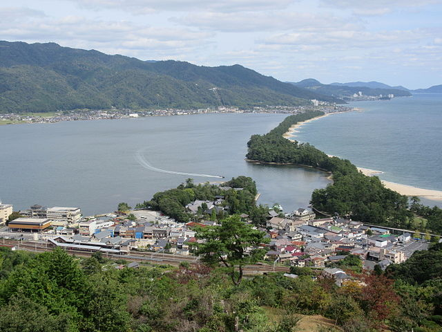 Amanohashidate View From Mt. Moju