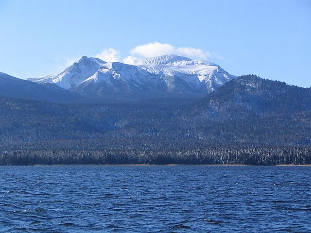 Mt. Meakan & Lake Akan